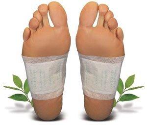 10 x Detox Foot Pads Fußpflaster Vital pflaster Entgiften Vitalpflaster *Detox-Pflaster zieht die Toxine *