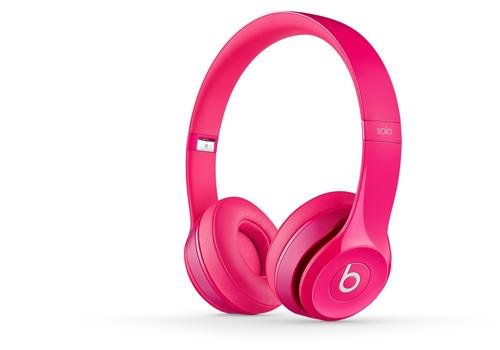 Beats Solo 2 Headphones, Pink