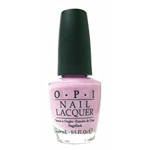 OPI Nail Lacquer, Panda-Monium Pink, 0.5 Ounce