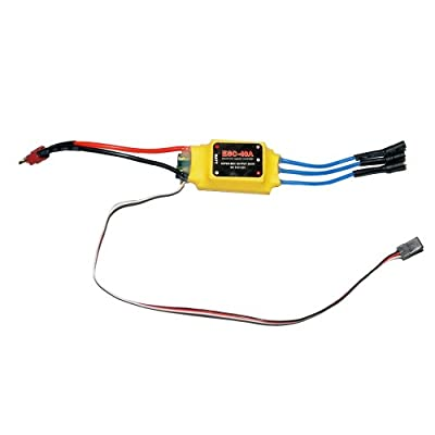Joysway Deans 40 Amp 4s BEC 3a 5v 3.5mm Brushless Airplane Quad RC Drone ESC