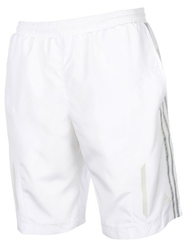 Adidas Mens Running Tennis Gym Shorts E82138WHI