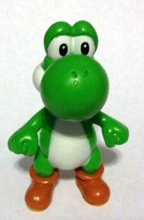"2007 Nintendo Yoshi 2 1/2"" PVC Figure - 1"