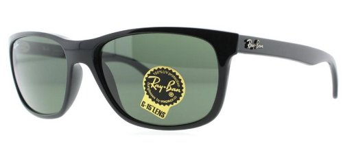 Ray Ban RB4181 Sunglasses-601 Black (G-15XLT Lens)-57mm