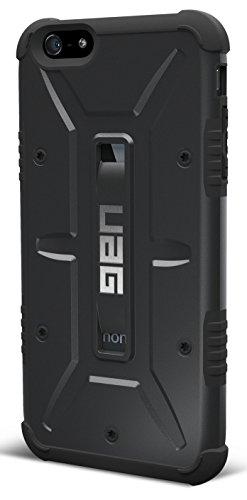 日本正規代理店品URBAN ARMOR GEAR iPhone 6 Plus (5.5インチ)用コンポジットケース ブラック UAG-IPH6PLS-BLK