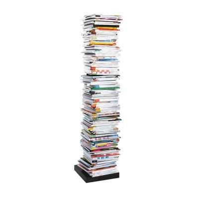 Se pueden usar por separado PTOLOMEO libros columna 72 cm negro/pie negro
