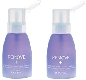 Zoya Remove Plus Nail Polish Remover in Big Flipper 8 oz 2 pack by Art of Beauty