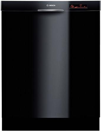 800 Series 24 '' Recessed Handle Dishwasher Finish: Black
