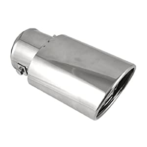 Car Stainless Steel Oval Shape Exhaust Muffler Pipe