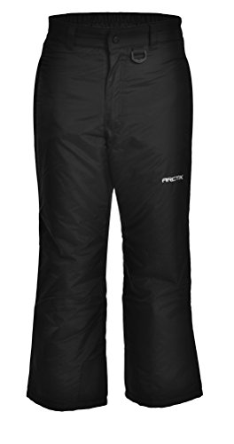 Arctix Youth Classic Snow Pants, Large, Black