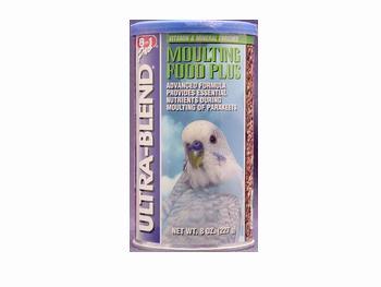 Cheap 3PK Parakeet Ultrablend Moulting Food 8oz (Catalog Category: Bird / Small Hookbill Treats) (BEOA502)