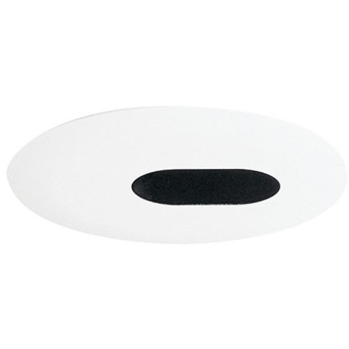 Juno Lighting 445-WH 4-Inch Slot Aperture Recessed Trim, White