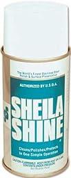 Sheila Shine SS-12 Sheila Shine Stainless Steel Polish Oil Based, 12/12Oz/Cs