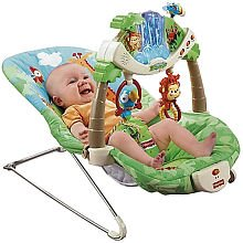 Fisher Price Rainforest Bouncer - Baby Gear