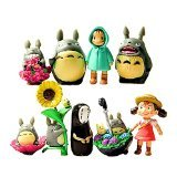 My Neighbor Totoro Figure Hayao MiyazakiPONYO Spirited Away Anime Models