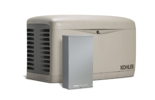 Kohler 20Resal-Se 20,000-Watt Air-Cooled Standby Generator With 200 Amp Whole-House, Service Entrance Rated, Load Shedding Automatic Transfer Switch