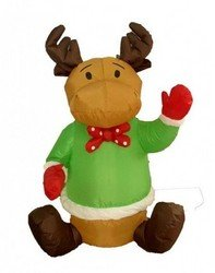 BZB Goods - Four Foot Christmas Inflatable Sitting