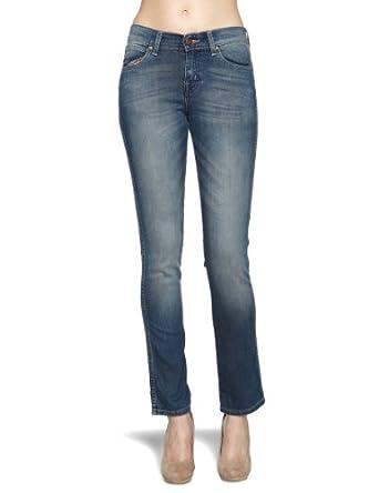 Wrangler Caitlin Slim Womenu0026#39;s Jeans Marked Indigo W25 ...