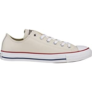 Converse Men's All Star Chuck Taylor M7652 (White/Navy, 7 D)