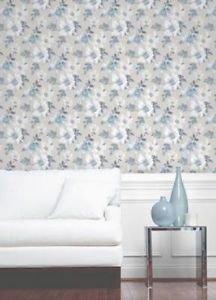 Fine Decor Marissa Wallpaper - Blue from New A-Brend