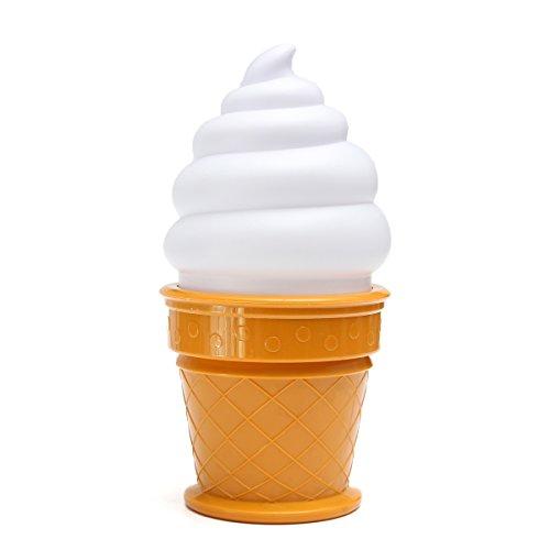 Hanperal Ice Cream Night Light Desk Table Lamp Kids Children Bedroom Decor Light (Ice Cream Cone Decor compare prices)