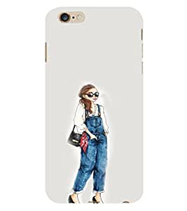 EPICCASE Dungry girl Mobile Back Case Cover For Apple iPhone 6 Plus (Designer Case)