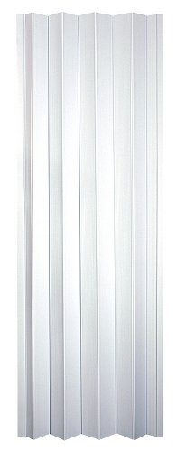 Wallscapes OK32-3680F Spectrum Oakmont 32 to 36 by 80-Inch Accordion Folding Door, Frost White