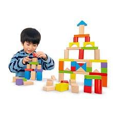 Imaginarium Wooden Block Set - 75-Piece front-938959