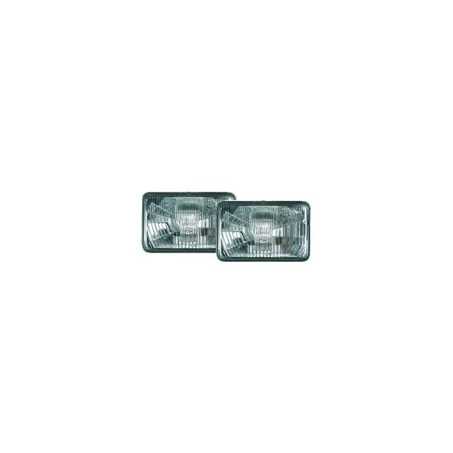 HELLA 006277157 Module 164 x 103mm Series H4 Type Single High/Low Beam Headlamp with Position Lamp and Fixed Point Mounting
