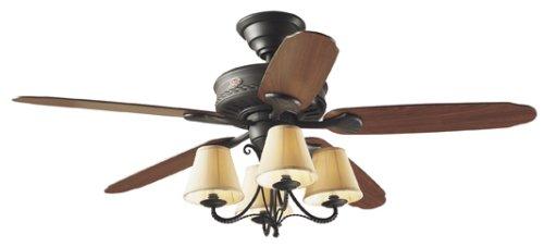 @@ BEST BUY Hunter 22710 Cortland 54-Inch Five-Dark Cherry/Walnut Oak-Blades-Ceiling Fan, New ...