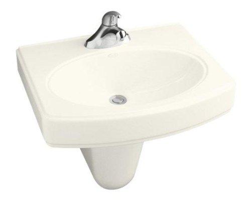 Buy Bathroom Sink Wall Mounted by Kohler - K-2035-1 in White (Kohler Sinks, Plumbing, Sinks, Bathroom)