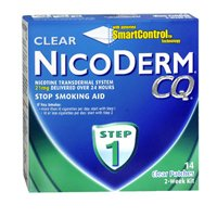Nicoderm Cq Step 1 Clear Patches, 21 mg, 14 Units (Pack of 3)