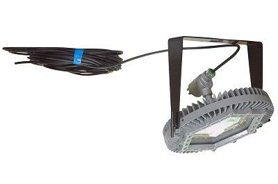 Ceiling Mount Explosion Proof 150 Watt High Bay Led Light Fixture - 100Ft Cord - 10,000 Lumens