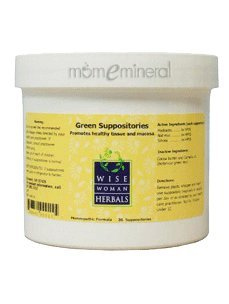 Green Suppositories 36 supp by Wise Woman Herbals