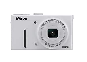Nikon COOLPIX P330 12.2 MP Digital Camera with 5x Zoom (White)
