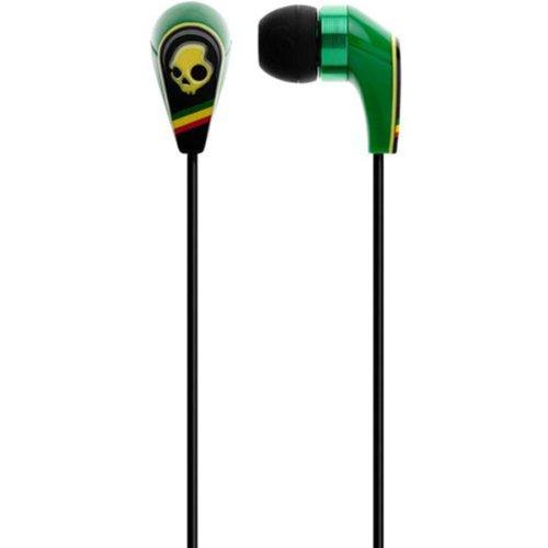 Skullcandy 50/50 Ear Buds With Mic3 Rasta (2011), One Size
