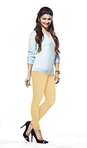 Lux-Lyra-Womens-Beige-Churidar-Leggings