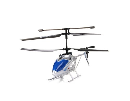 Syma S032G 3 Channels RC Helicopter with Gyro (Blue)