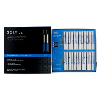 Personal Care - GoSmile - Double Action Whitening System (12 Days of Treatment) 24pcs