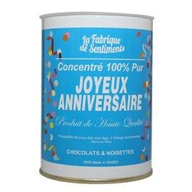 Boîte de chocolat 100% pur amour rouge