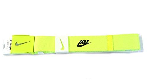 NEW Nike Tech Essentials Volt Web Golf Belt Cut-To-Length OSFM (Nike Bottle Opener Belt compare prices)