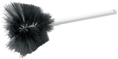 "Carlisle 4002500 Sparta Coffee Decanter Brush, Soft Polyester Bristles, 6-1/2"" Bristle Diameter, 4-1/2"" Brush Length, 16"" Overall Length front-563980"