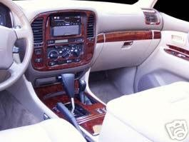 Amazon.com: TOYOTA LAND CRUISER INTERIOR BURL WOOD DASH