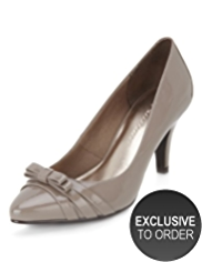 M&S Collection Double Bow Court Shoes with Insolia®