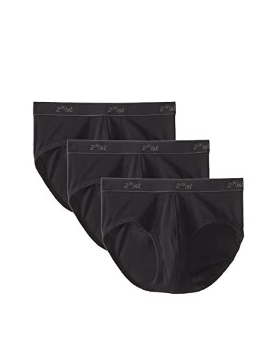 2(x)ist Men's Essentials Contour Pouch Brief- 3 Pack