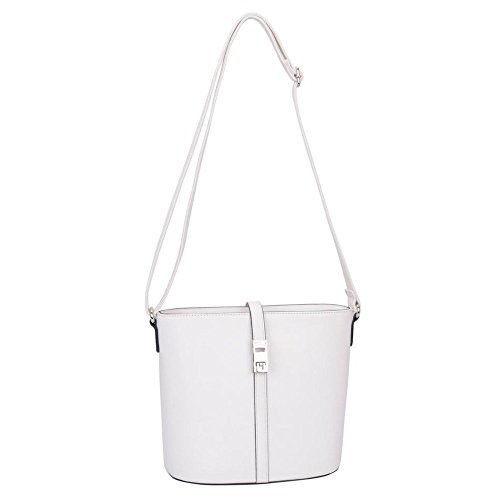 David Jones Borsa A Tracolla Womens Alexandra One Size Bianco