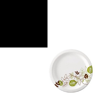 Kitdxeux9Wspkofx01096 - Value Kit - Chock Full O'Nuts Coffee (Ofx01096) And Dixie Pathways Mediumweight Paper Plates (Dxeux9Wspk)