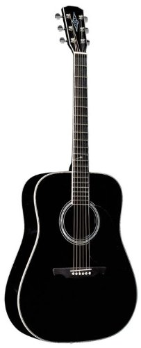 best buy alvarez ad4104 artist series solid spruce top dreadnought acoustic guitar black on. Black Bedroom Furniture Sets. Home Design Ideas