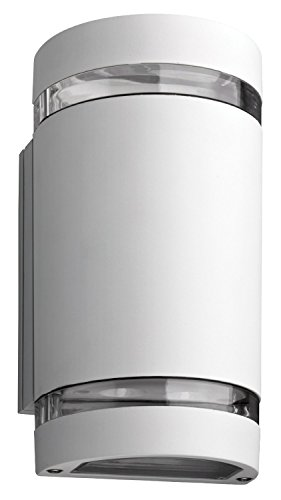 Lithonia Ollwu Wh M6 Outdoor Led Wall Cylinder 2-Light Up And Down
