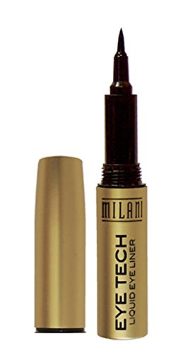 Milani Eye Tech Liquid Eyeliner, Brown, 0.02 Fluid Ounce (Liquid Brown Felt Liner compare prices)