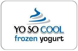 Yo So Cool Frozen Yogurt Gift Card ($10) front-885462